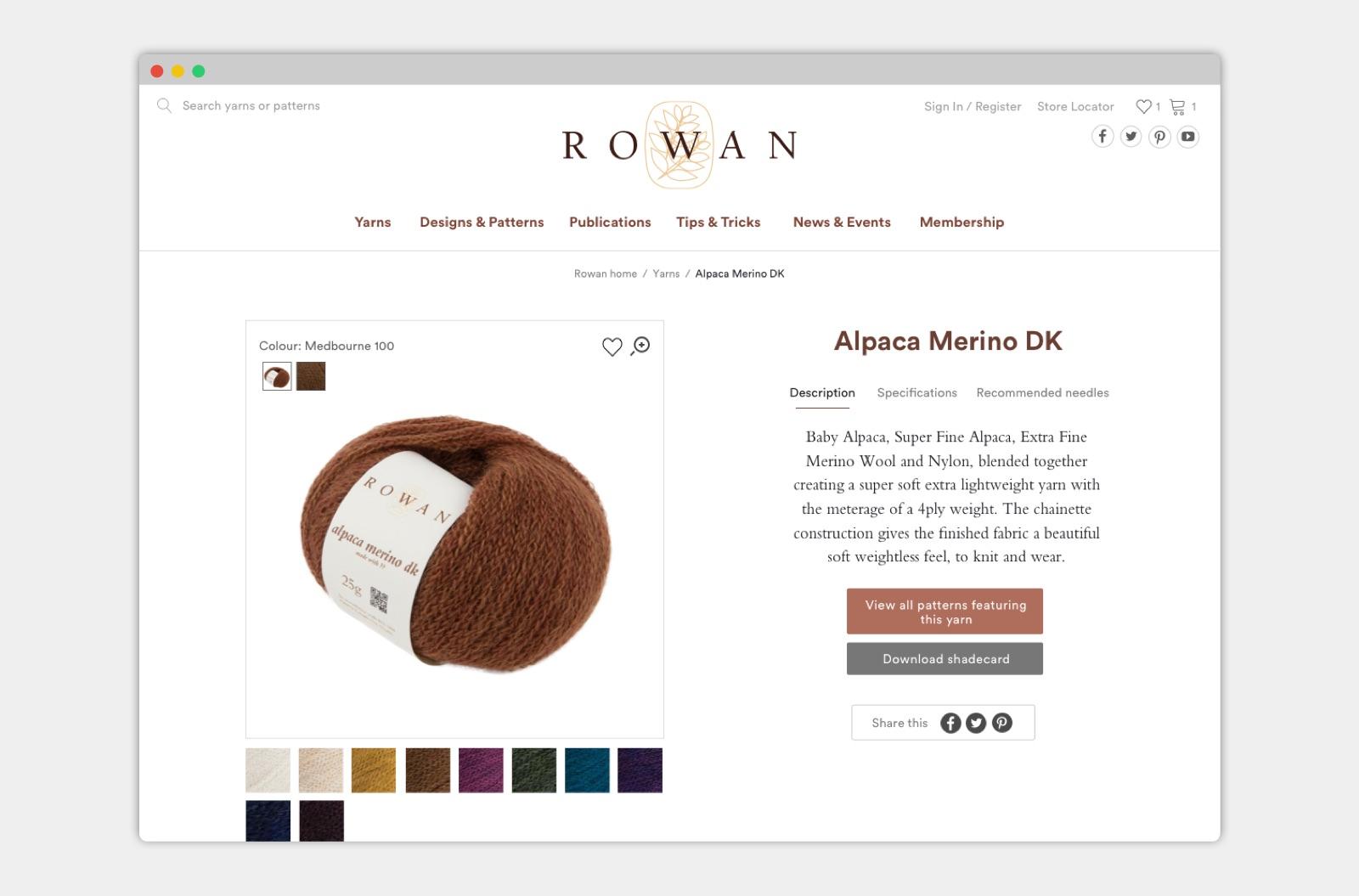 rowan screenshot